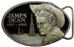 James Dean Officially Licensed Limited Edition Belt Buckle with display stand. Code JD2
